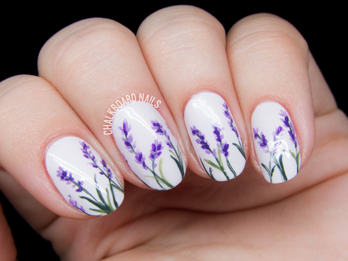 Cute nails designs on Pinterest | Cherry Blossom Nails ...