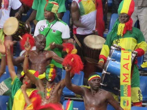 Mali fans, Africa Cup of Nations 2017.