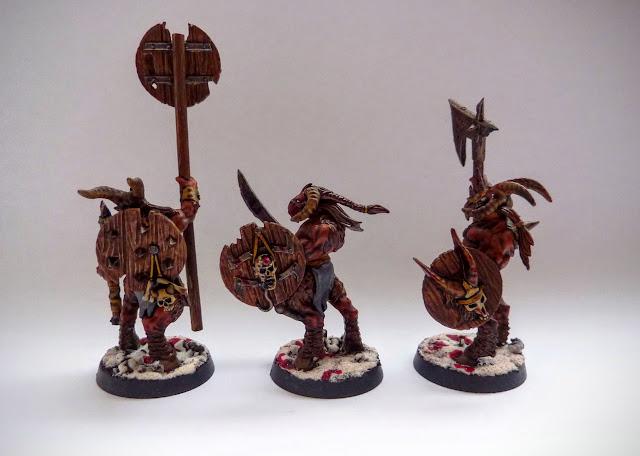Beastmen Gor for Age of Sigmar, Realm of Ghur
