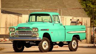 1959 Chevrolet Apache Napco The Mighty Pickup