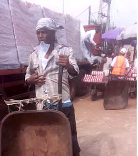 Former wheelbarrow pusher gets N15million record deal