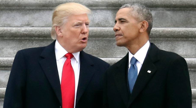 Trump is as popular as Obama was in the middle of his first presidential term, survey says