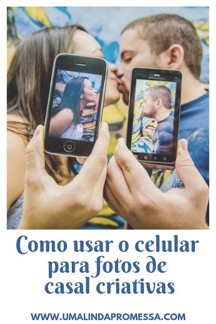 Como usar o celular na sessão de fotos de casal