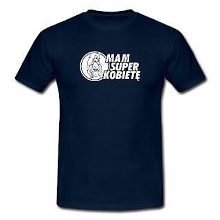 koszulka Mam super kobietę