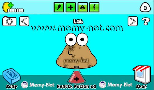 Download Pou MOD-(Unlimited Coins) free on android