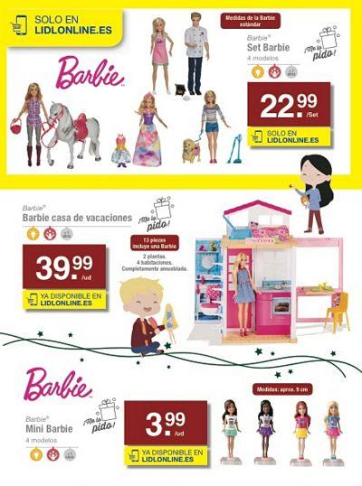 Muñecas Barbie - mini Barbie - Set Barbie