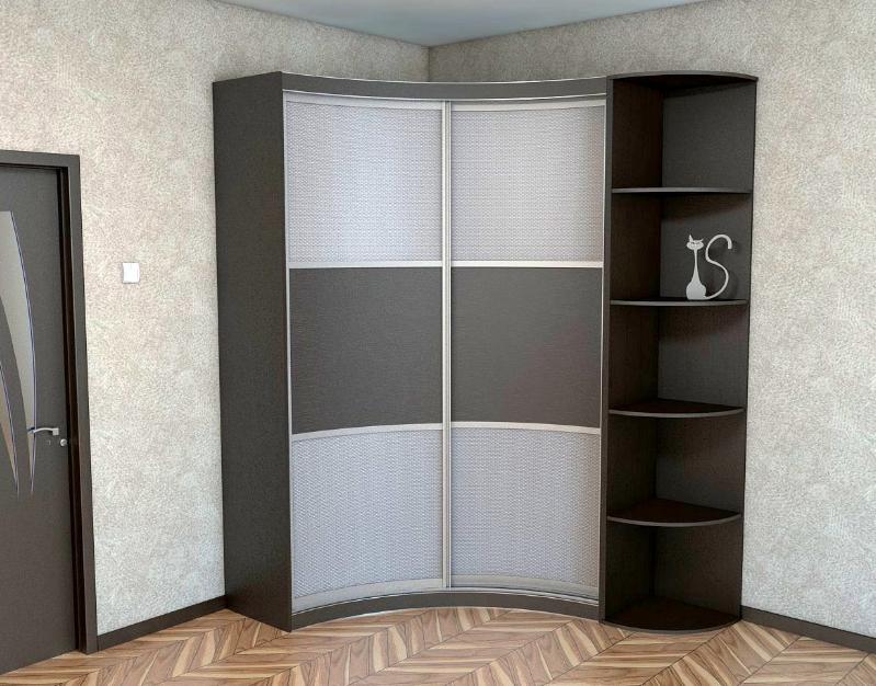 Desain Lemari Pakaian Minimalis Modern Siku Untuk Ruangan Sempit