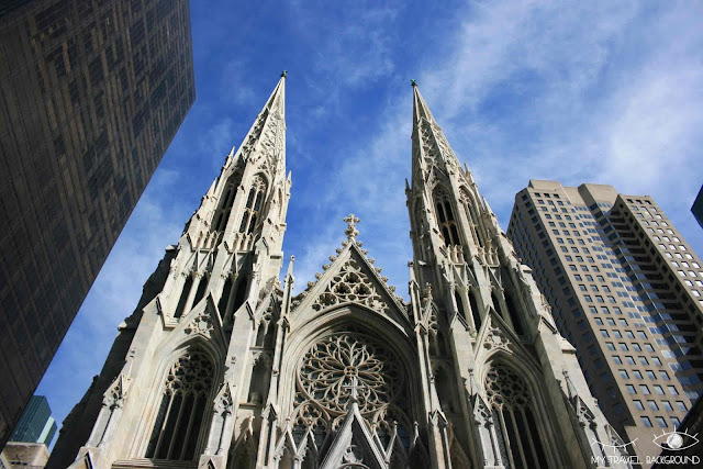 My Travel Background : Une semaine à New York - Saint Patrick Cathedrale