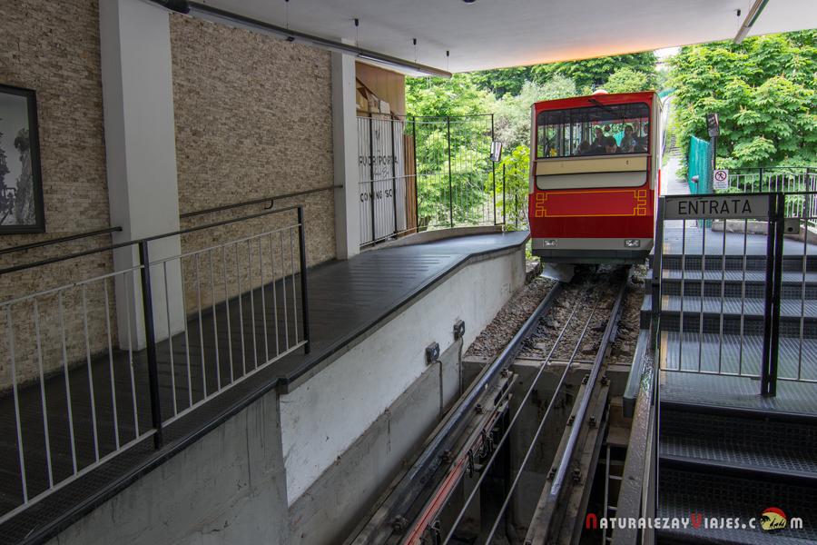 Funicular en Bérgamo