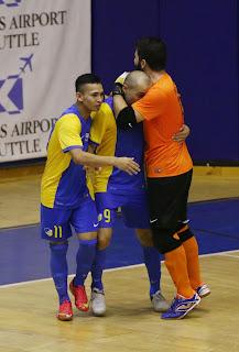Futsal: Οι γαλαζοκίτρινοι αντιμετωπίζουν την Απελευθέρωση