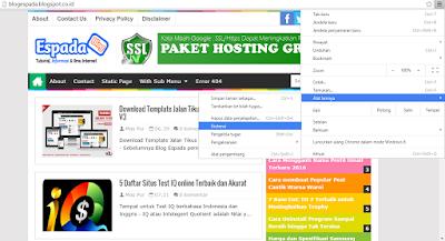 Cara Memasang Add-on/Ekstensi IDM ke Google Chrome 10
