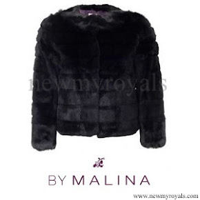 Princess Madeline wore BY MALINA Elsa Coat
