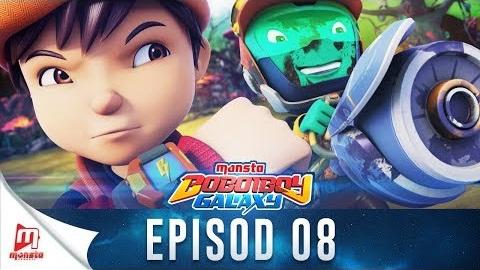 BoBoiBoy Galaxy Episode 8 - Misi Penghantaran Dobi