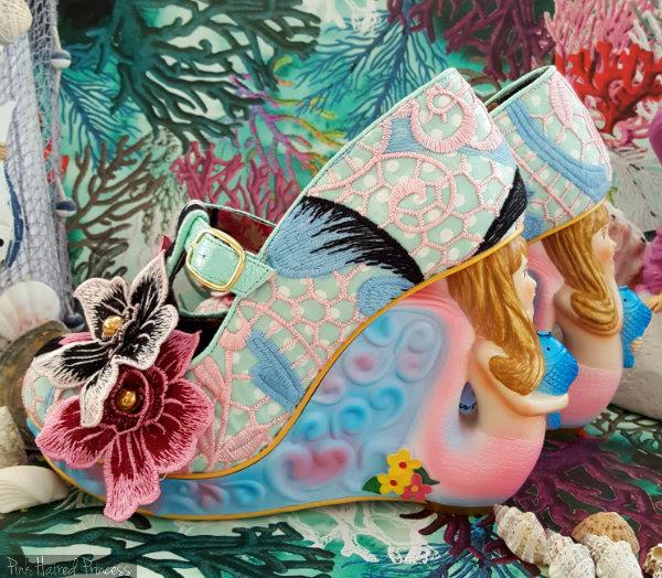 Irregular Choice mermaid character heels