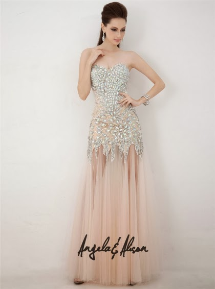 30433dfaf5 Prom Dresses by french novelty  2014 Angela and Alison Prom Dresses ...