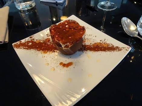 Dessert restaurant Italien Officina Schenatti Paris 5 ème.