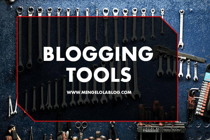 Software dan Blogging tools untuk mengelola konten blog