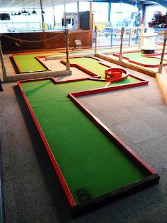 Indoor Crazy Golf at Brean Leisure Dome