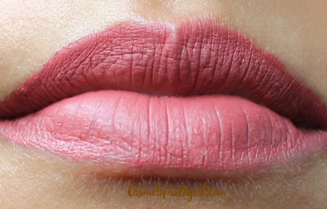 Jeffree Star Cosmetics Velour Liquid Lipstick in Gemini swatches