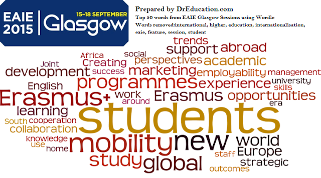 innovation in internationalisation, MOOCs and China at EAIE 2015 Glasgow