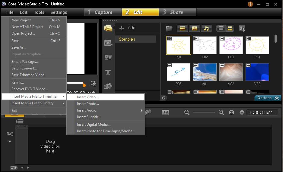 Cara Memulai Membuat Project Corel Video Studio 4
