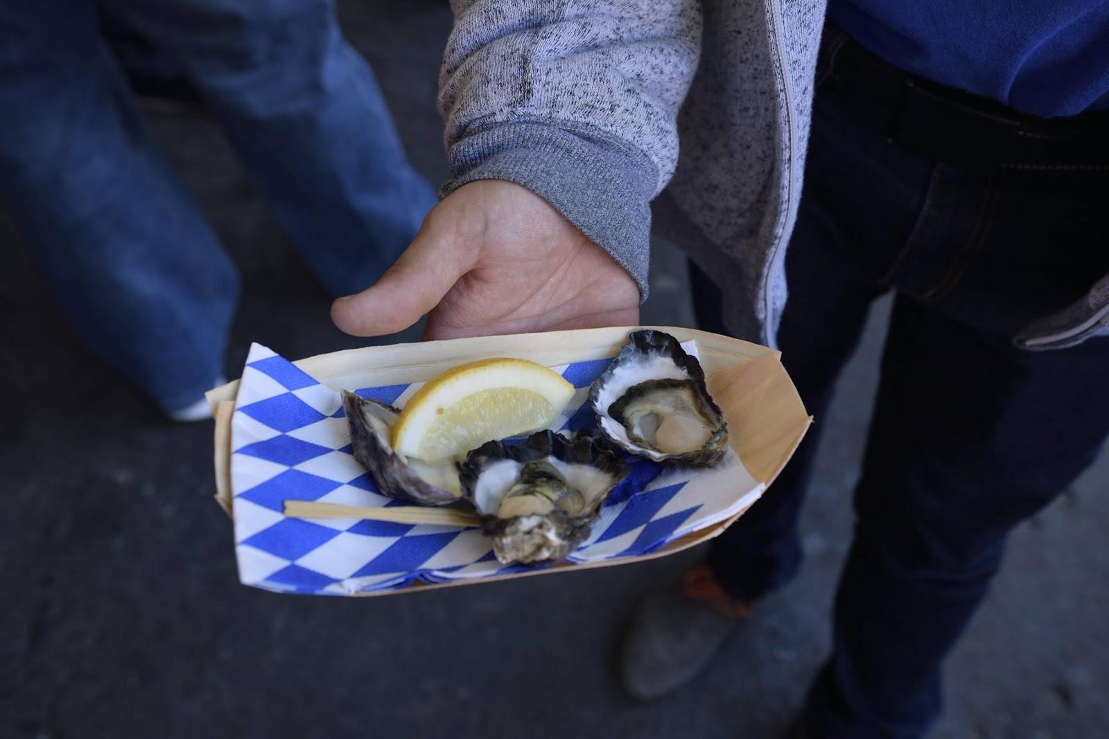 Raw oyster tattoo