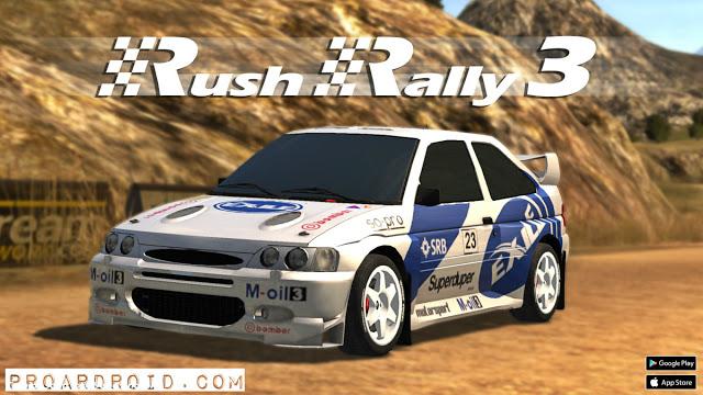 تحميل لعبة Rush Rally 3 v1.61 كاملة للأندرويد (اخر اصدار) logo