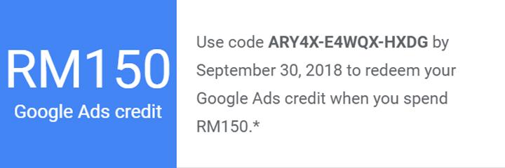 Free token Google Ads