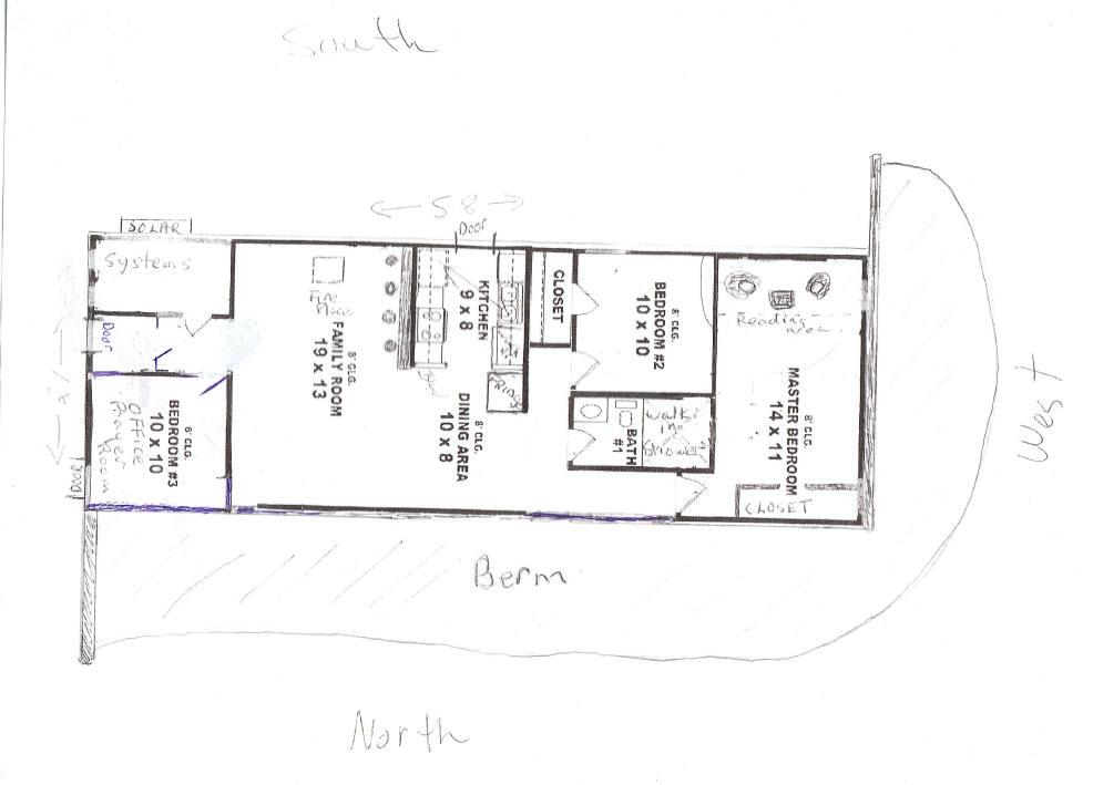 Wonderful Passive Solar House Design Plans Contemporary - Exterior ...