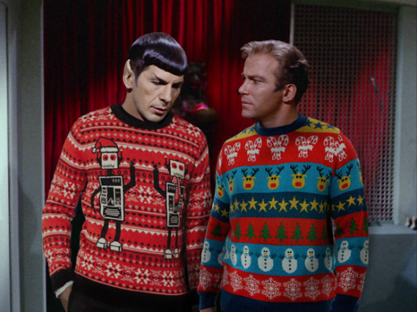 La moda de los jerséis navideños