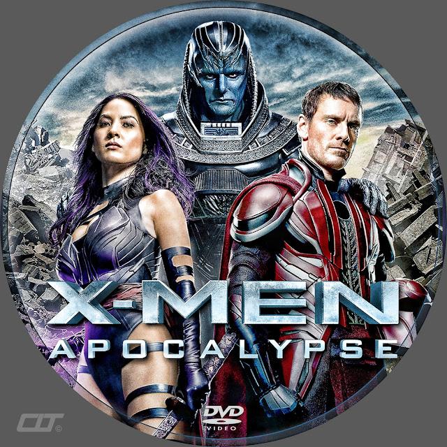 X-Men Apocalypse DVD Label