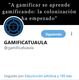 https://twitter.com/gamificatuaula?lang=es
