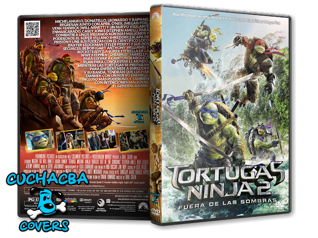 Cover Diago Teenage Mutant Ninja Turtles Out Of The