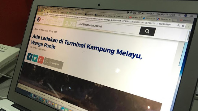 Terbongkar! Peran Jurnalis detik.com dalam Insiden Teror Bom di Kampung Melayu