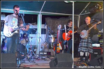 """Compo de rock breton """"An avel"""" ... line check"""