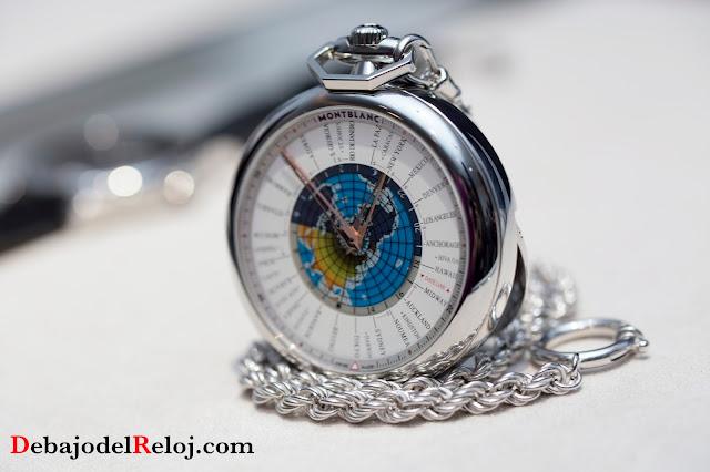Montblanc 4810 Orbis Terrarum Pocket Watch2