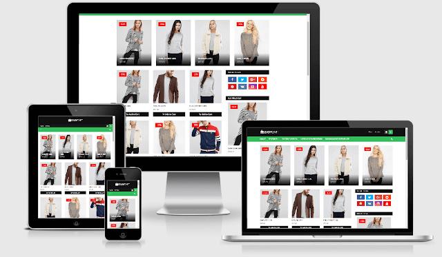 Easy Cart - Responsive eCommerce Blogger Template