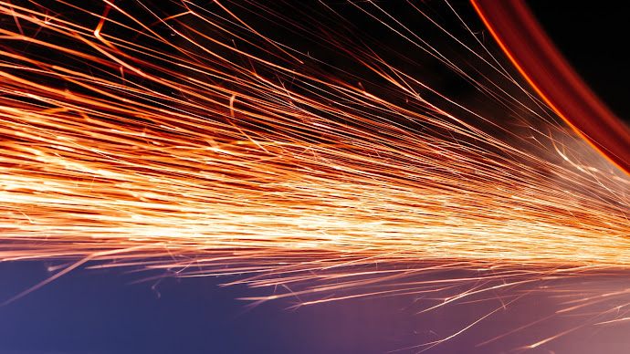 Wallpaper: Abstract Sparks
