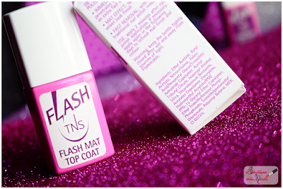 TNS cosmetics  topcoat flash mat