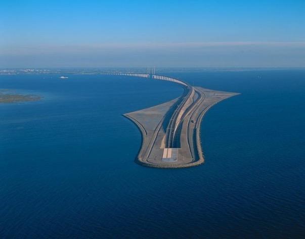 Inilah Terowong Bawah Air Yang Menakjubkan Di Denmark