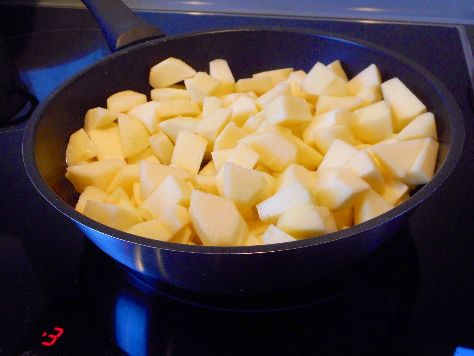 Cuisson pommes poele