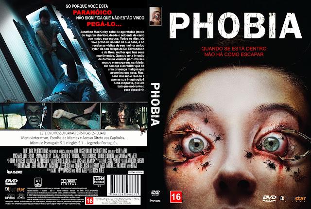 Capa DVD Phobia