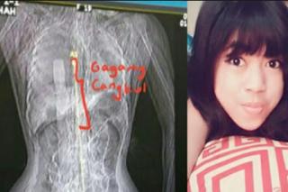 Bikin merinding !!! Akun FB Enno Korban Pembunuhan Gagang Cangkul Mendadak update