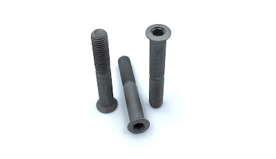Custom Bead Blast Flat Socket Screws - AISI 303 Stainless Steel Material