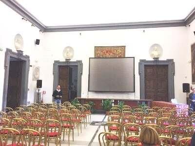 Evento proiettore Promoteca di Roma