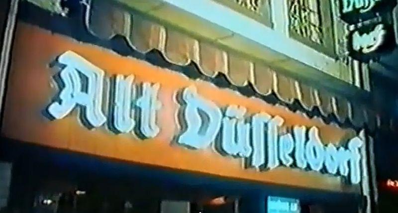 Düsseldorf Altstadt 1975  | Eine  feine 30 Minuten Dokumentation aus der Vergangenheit | Die längste Theke der Welt