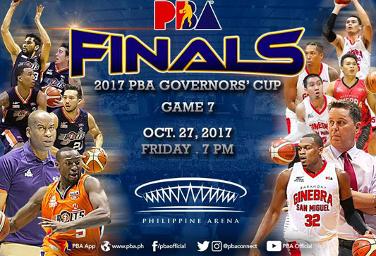 PBA Game Tickets | 2017 PBA Governors' Cup Finals | Araneta Coliseum | MOA Arena | Philippine Arena