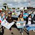 A 6 meses de la desaparición del Submarino #ARASanJuan, familiares de los 44 tripulantes se movilizaron en Mar del Plata