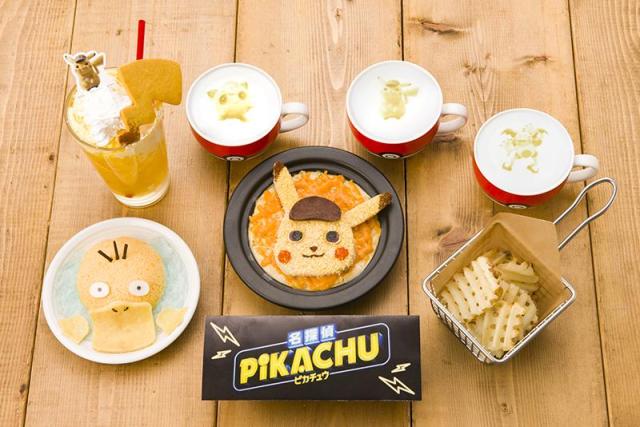 Detective Pikachu Memulai Debut Pokémon Cafe-nya Dengan Item Menu Baru