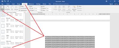 Cara Membuat Halaman Landscape Tertentu Pada Microsoft Word